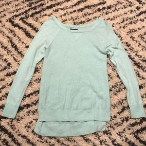 Mint colored soft sweater